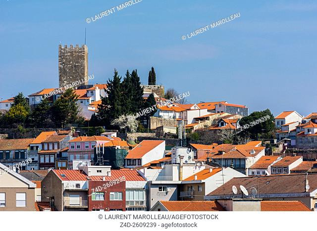 Castle and Town of Lamego, Viseu District, Norte Region, Portugal, Europe