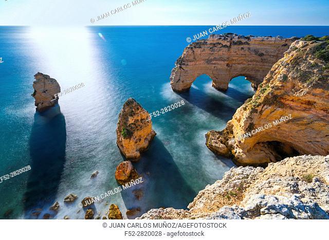 Praia da Marinha, Algarve, Atlantic Ocean, Portugal