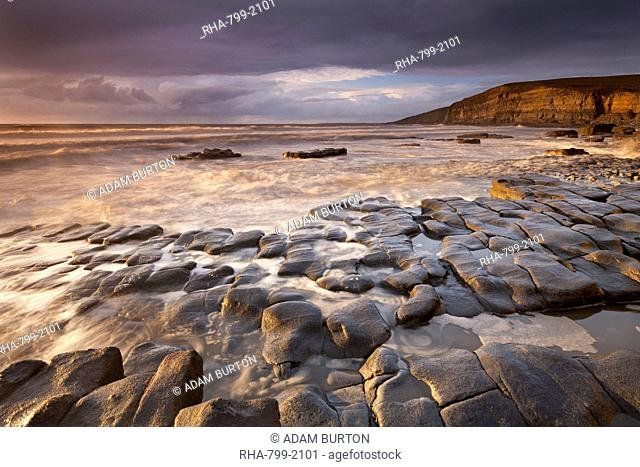 Dunraven Bay on the Glamorgan Heritage Coast, South Wales, United Kingdom, Europe
