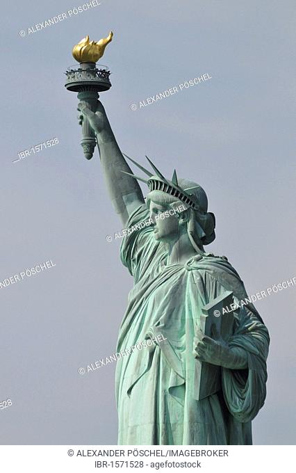 Statue of Liberty, Liberty Island, New York, USA, United States, North America, America