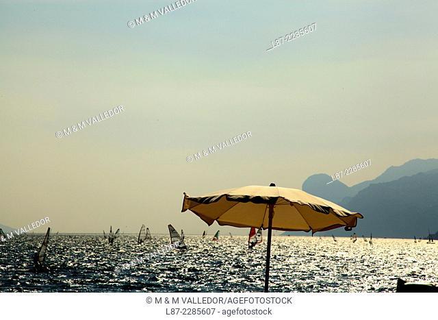 Torbole, Trentino, Alto Adige, Garda lake, Italia