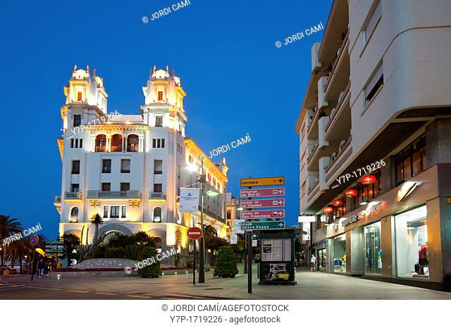 Casa Trujillo  Plaza de la Constitucion Ceuta  Spain
