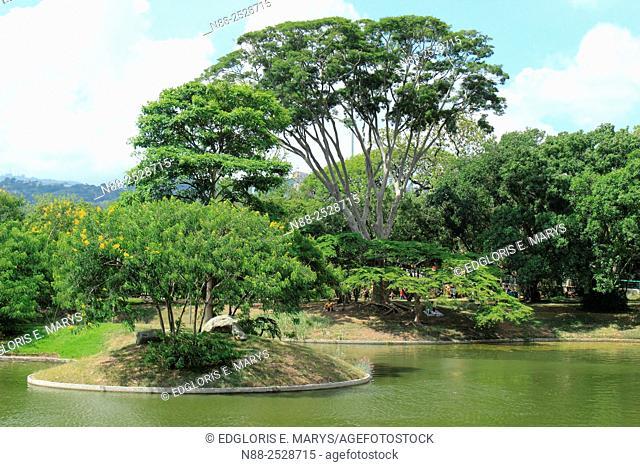 Parque del Este, designed by Roberto Burle Marx, Caracas, Venezuela