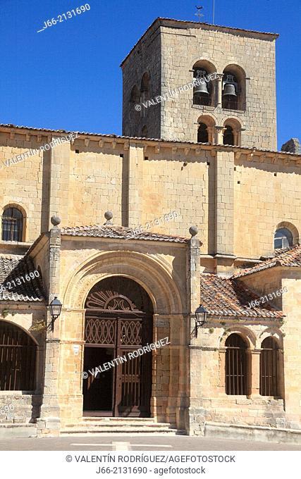 church of Nuestra Señora de la Peña. the XII century Romanesque, Sepúlveda. Segovia