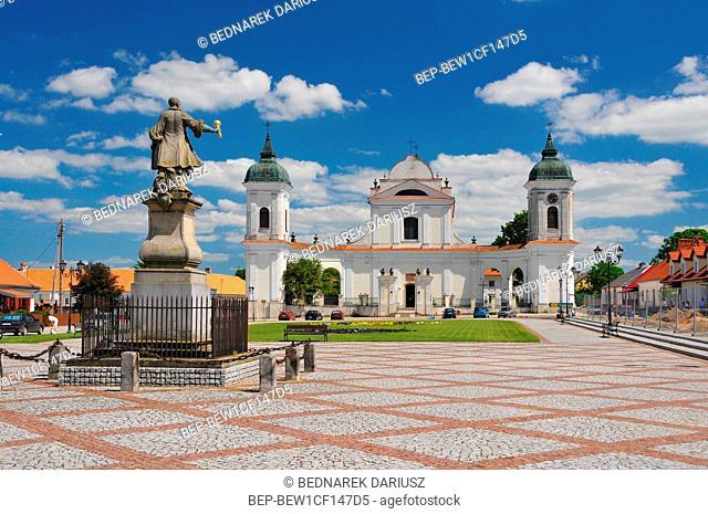 Tykocin - small town in Podlaskie Voivodeship, Poland. Church of the Holy Trinity