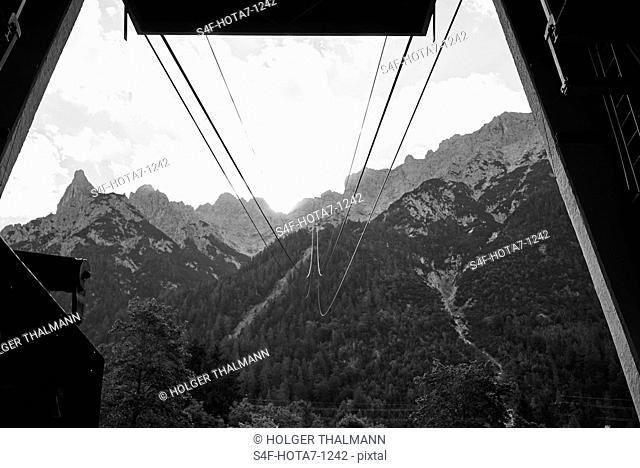Alpen, Karwendelbahn