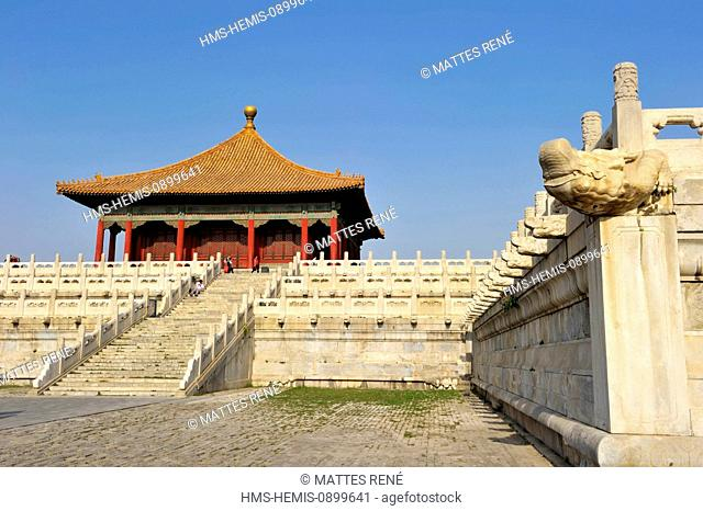 China, Beijing, Forbidden City, listed as World Heritage by UNESCO