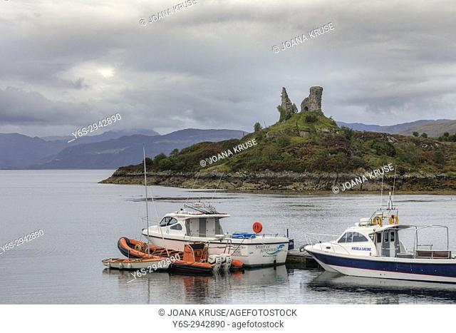 Caisteal Maol, Isle of Skye, Scotland, United Kingdom