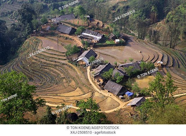 Village outside Sapa, Northern Vietnam