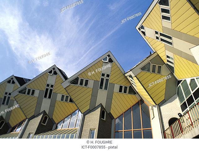 The Netherlands, Rotterdam, modern buildings