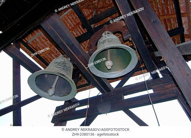 Bells in belfry, Brasov, Romania, Europe