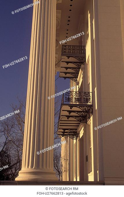 Montgomery, AL, Alabama, Alabama State Capitol, columns