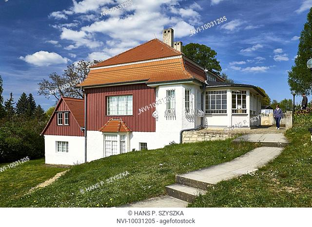 Klingerhaus in the vineyard, Großjena, Naumburg, Burgenlandkreis, Saxony-Anhalt