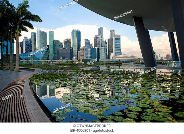 Downtown central financial district, Singapore