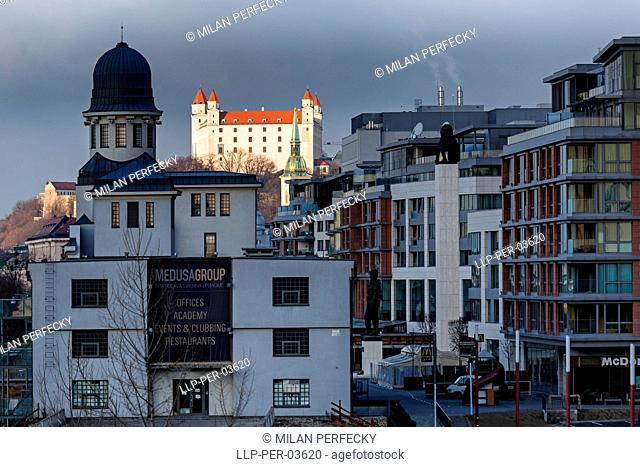 Castle, City Bratislava - Slovakia