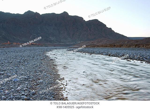Moulouya river, Middle Atlas Morocco