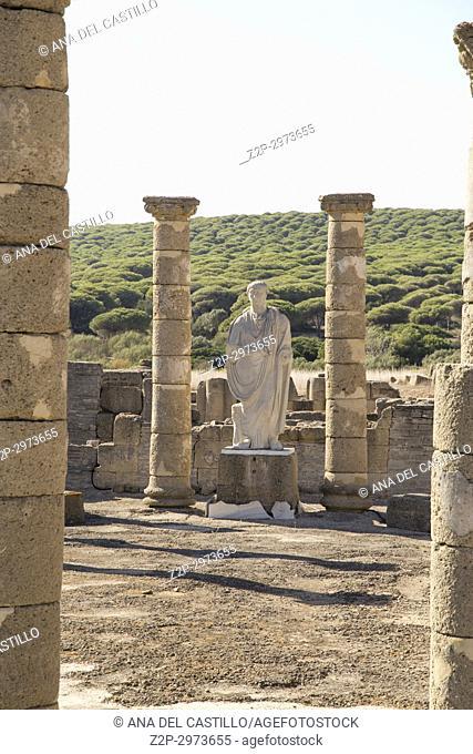 Ruins and museum of a Roman city, Baelo Claudia, Cadiz, Spain