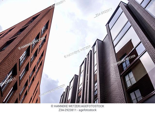Modern architecture in Rotermann City in Tallinn, Estonia,