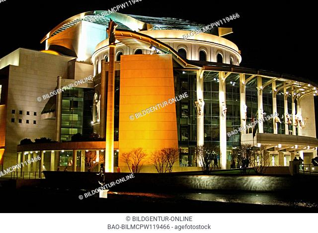 National modern theater in Hungary Budapest