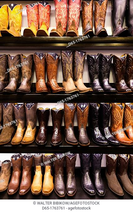 USA, Colorado, Aspen, Cowboy Boots, Kemo Sabe shop