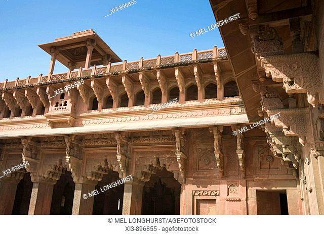Jahangiri Mahal, Agra Fort, also known as Red Fort, Agra, Uttar Pradesh, India