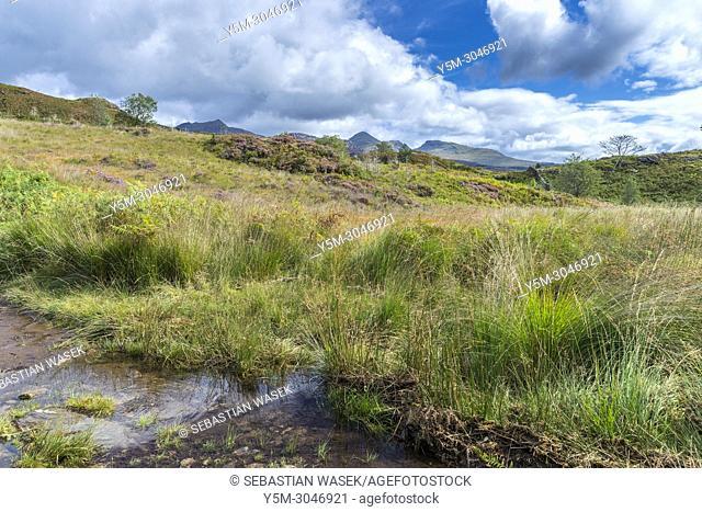 Cwm Bychan and Aberglaslyn Pass walk, Snowdonia National Park, Beddgelert, Gwynedd, Wales, UK, Europe