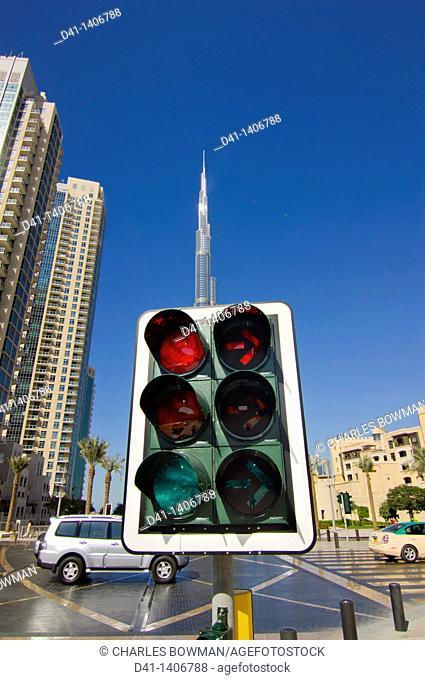 Middle East, UAE, Dubai, Burj Khalifa