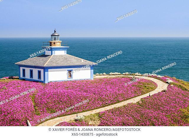 Lighthouse of Illa Pancha, Ribadeo, Lugo, Galicia, Spain