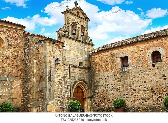 Caceres San Pablo convent in Spain Extremadura