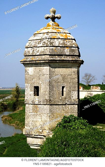 France, Poitou Charentes province, Departement of Charente Maritime 17, Brouage   Town of Brouage, famous for its military citadel designed by Vauban
