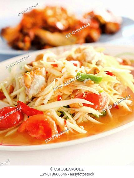 Som tam yang Stock Photos and Images | age fotostock