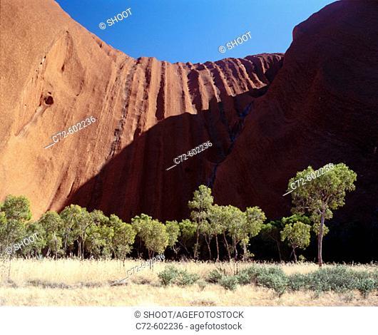 Uluru-Kata Tjuta National Park. Northern Territory. Australia