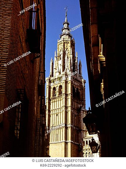 The Primate Cathedral of Saint Mary of Toledo (Spanish: Catedral Primada Santa María de Toledo) is a Roman Catholic cathedral in Toledo, Spain