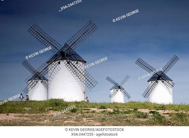Windmill; Campo de Criptana; Castilla La Mancha; Spain