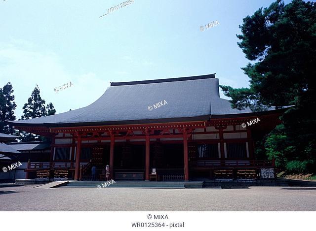 Motsuji Temple in Iwate Prefecture, Japan