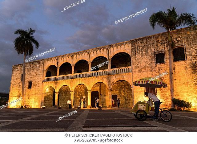 Alcazar de Colon or Columbus Alcazar, Ciudad Colonial, capital Santo Domingo, Dominican Republic, Carribean, America,