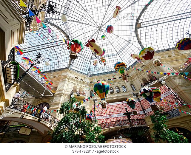 GUM shopping mall, Moscow, Russia