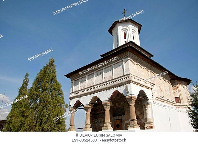Old traditional Romanian orthodox church