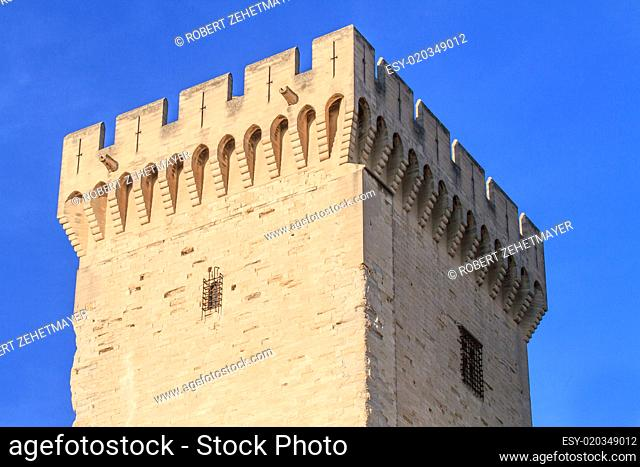 Avignon in Provence - Tower of the Popes Palace
