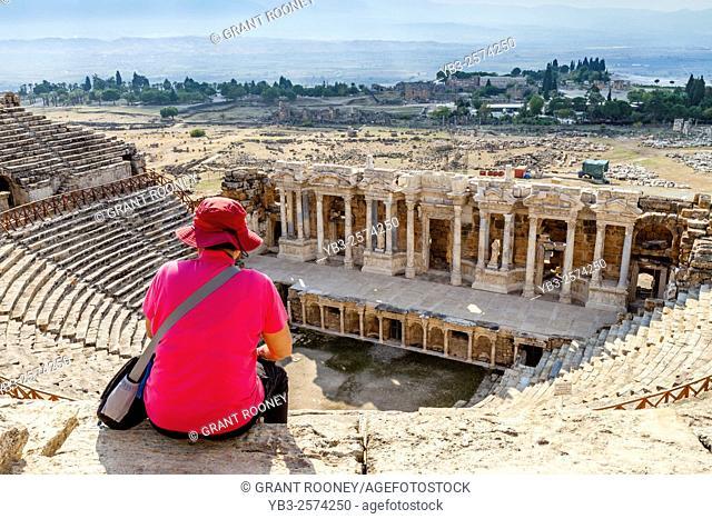 The Roman Theatre, Hierapolis/Pamukkale, Denizli Provence, Turkey