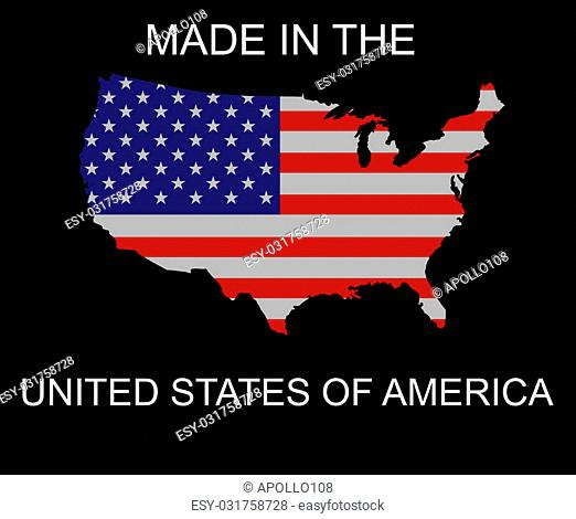 Made in the United States logo