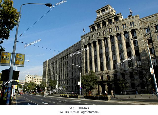 Beograd, city view, Serbia-Montenegro, Belgrade