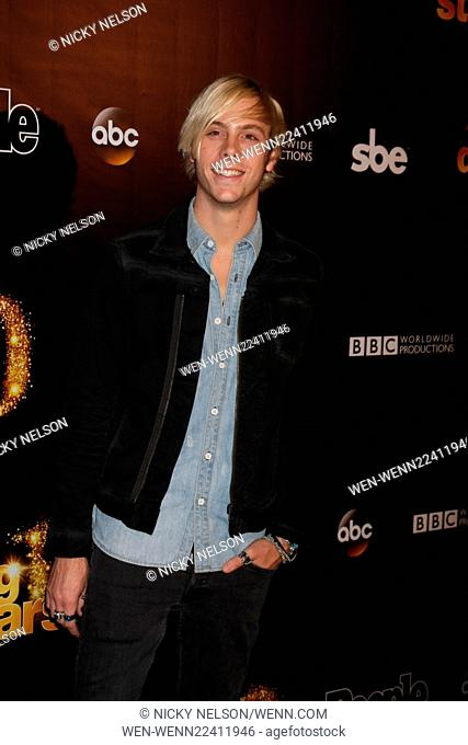 Dancing with the Stars 10 Year Anniversary Party Featuring: Riker Lynch Where: West Hollywood, California, United States When: 22 Apr 2015 Credit: Nicky...