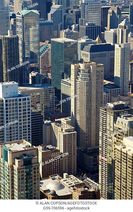 USA Illinois Chicago Downtown
