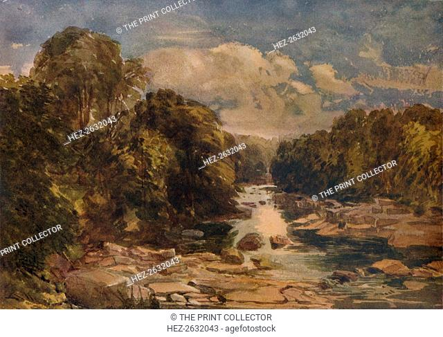 'Rokeby on the Tees', c1841. Artist: David Cox the elder