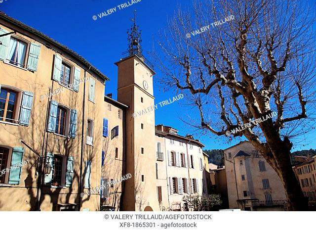 Medieval village of Cotignac, Var, 83, Provence, PACA, France