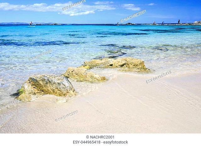 Beach in Formentera