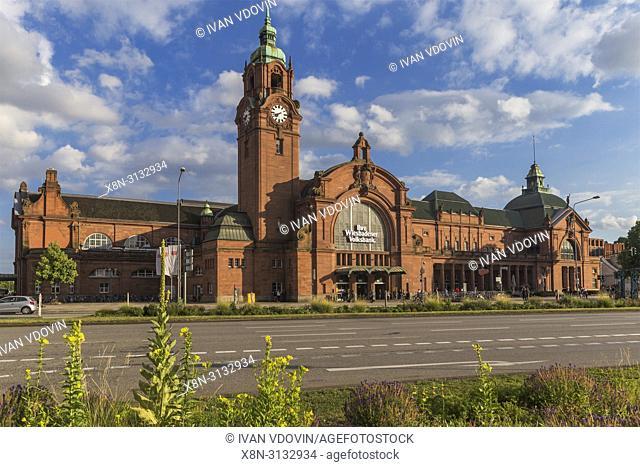 Main Station (1906), Wiesbaden, Hesse, Germany