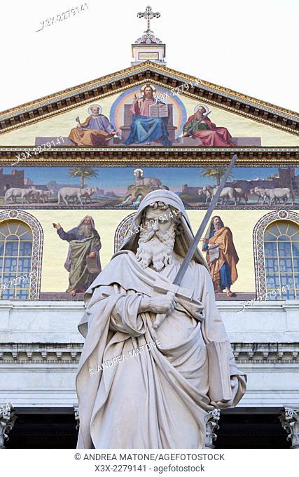 Basilica di San Paolo Fuori le Mura. Rome, Italy