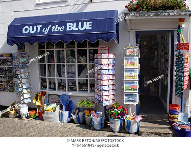 Out of the Blue Shop Quay Street Lymington Hampshire